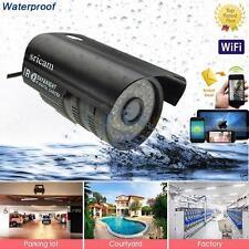 Silver Sleeples P2P Sricam Wireless Web IP Camera Weatherproof Full Surveillance