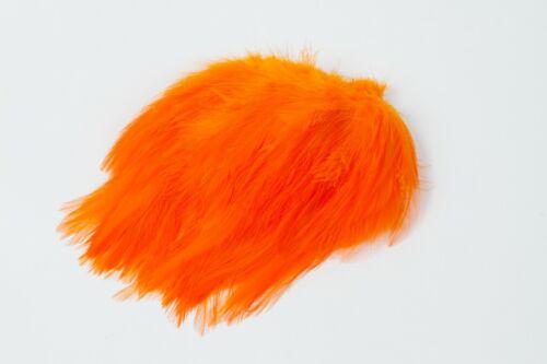 Strung Neck Hackle Orange 1//4 oz.