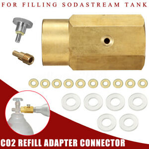 Nwe Cga320 Tank To Cga320 Tank Co2 Refill Adapter Connector Kit Air Systems & Accessories