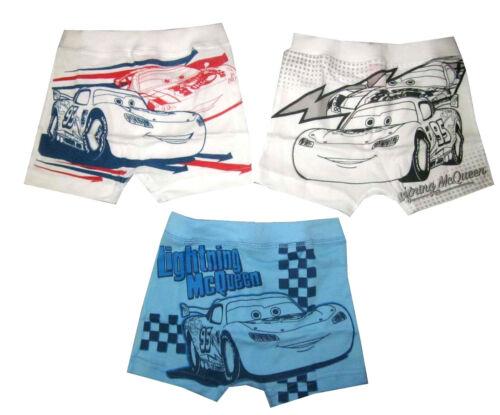 LIGHTNING McQUEEN set of 3 boys boxer briefs underwear M-XXL 4-10y Free Ship