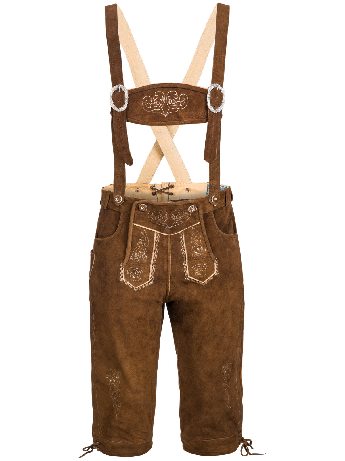 COSTUMES FOLKLORIQUES Set Messieurs Costumes Pantalon Cuir avec son Porteur costume Porteur son Chemise poche Oktoberfest 2fbfcc