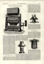 1889 máquina de Montaje de Resorte pessenger humo Preventor hallewell Vapor trampa Buden