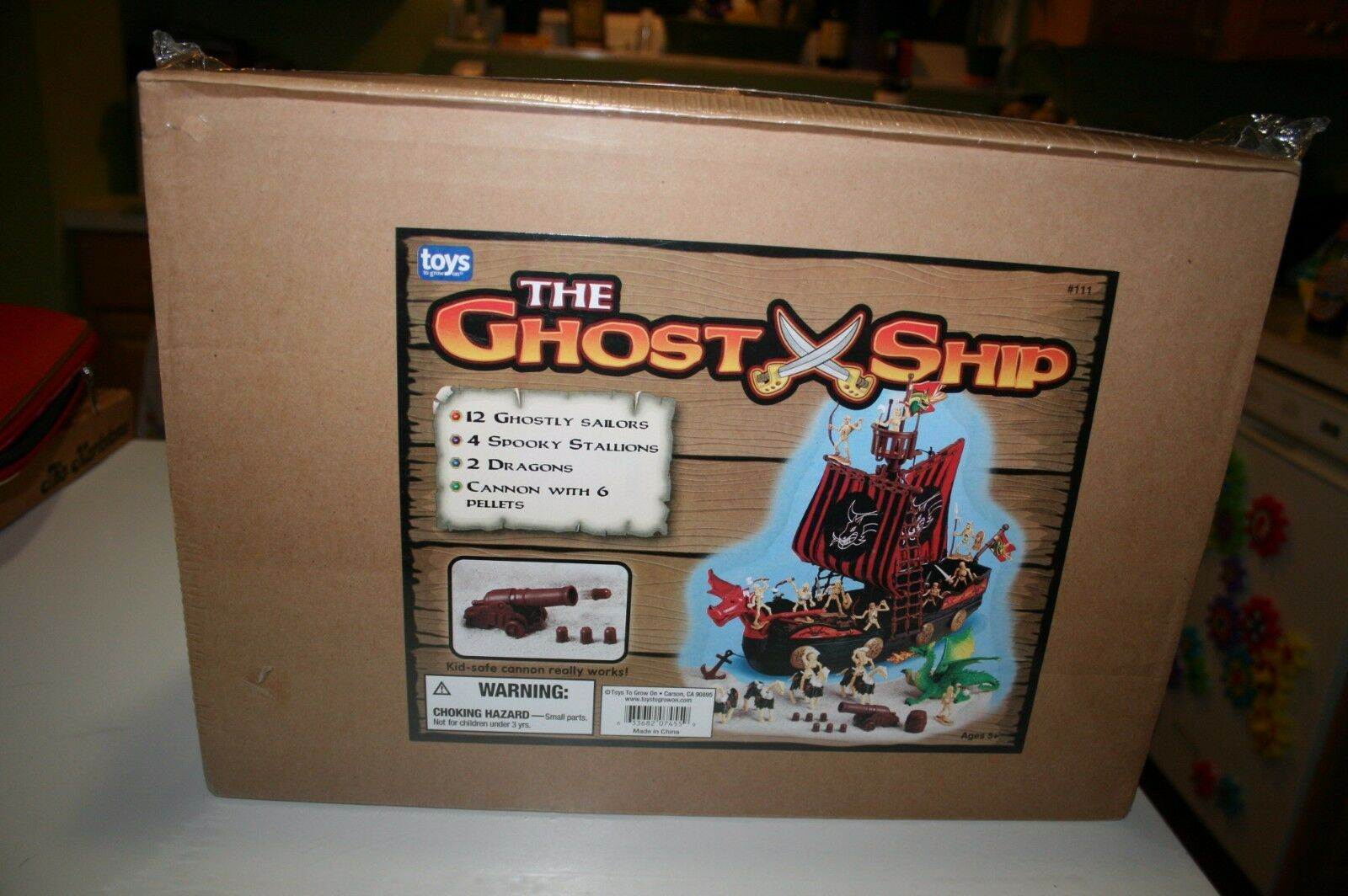 Rare Retired The Ghost Ship by Toys to Grow Up On NEW SEALED NIB