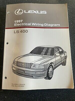 1997 97 LEXUS LS400 ELECTRICAL Manual LS400 Original ...