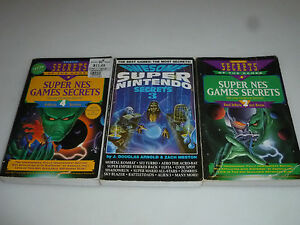 Details about VINTAGE NINTENDO BOOK LOT SUPER NES GAMES SECRETS VOLUME 2 4  AWESOME NINTENDO 3