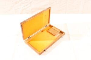 Old-Box-Wood-Transport-Chest-Storage-Measuring-Tool-Gauge-Case-Lehre