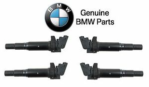 For Mini Countryman R56 Set of 4 Ignition Coil with Spark Plug Connector