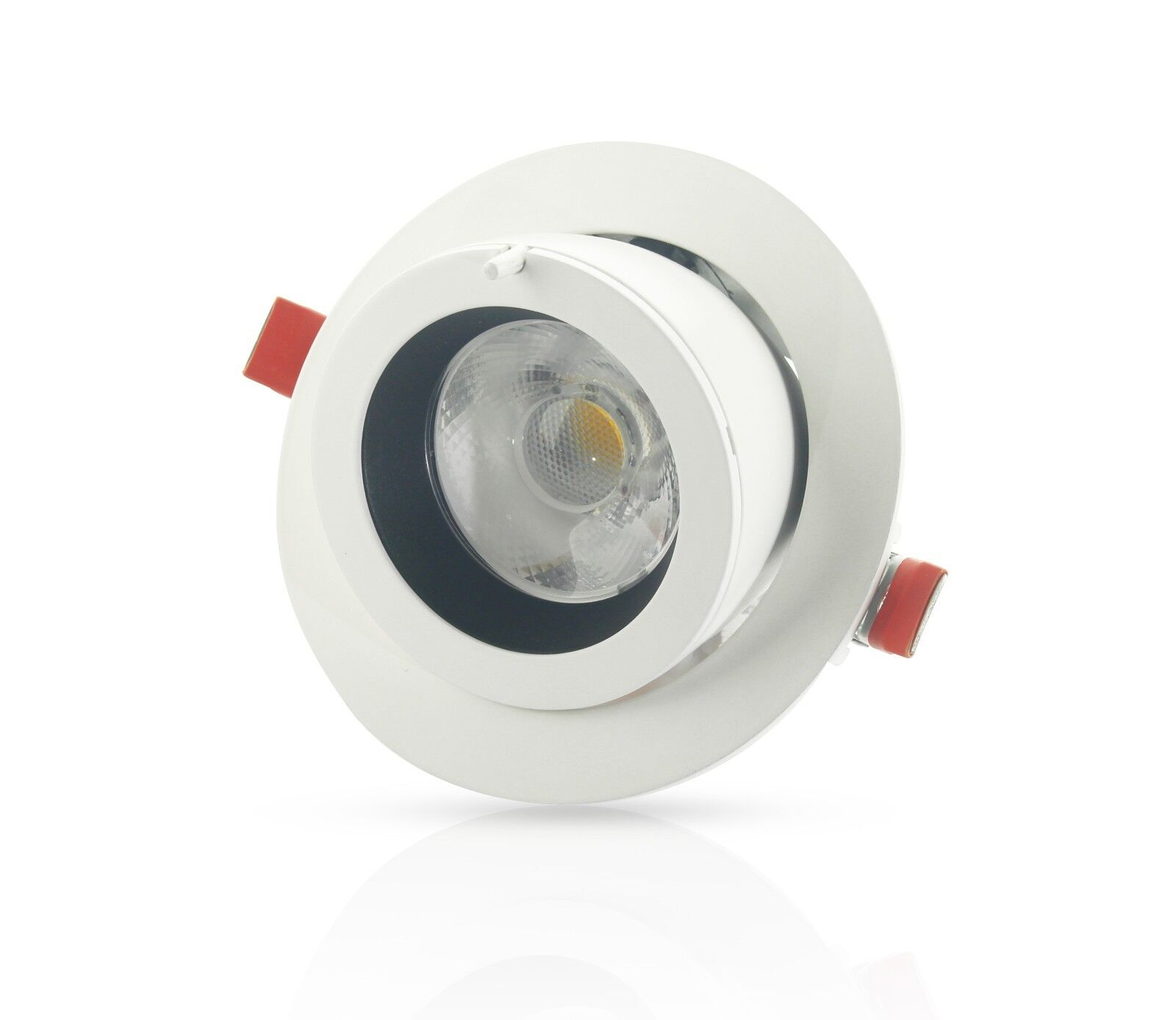 Under Cabinet Led Strip Light Fitting 5w Warm White 303mm: 12v Under Cabinet Round LED Light Fitting 2 Watt Cool