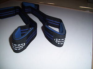 FIGURE 8'S WEIGHT LIFTING STRAPS ( heavy Duty Straps)