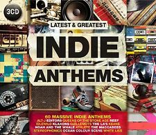 Indie Anthems feat. the editors, White Lies, The Enemy tra l'altro 3 CD NUOVO