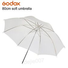 2pc Godox 80cm Studio White Diffuser Soft Umbrella Translucent for Flash Lamp