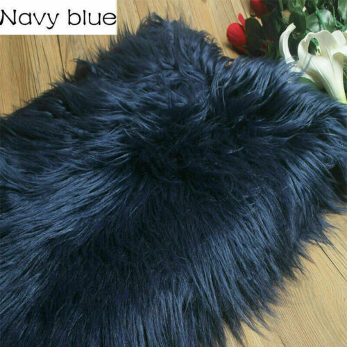 Plush Faux Wool Fur Fabric Furry Newborn Baby Photography Props By Metre