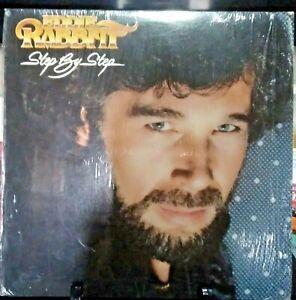 EDDIE RABBIT Step by Step Album Released 1981 Record/Vinyl Collection USA