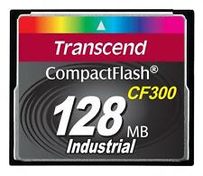 128MB Transcend CF 300X Speed SLC Industrial CompactFlash Memory Card