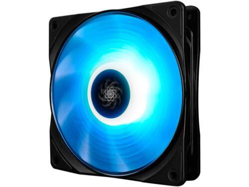 DEEPCOOL RF 120 Ultra Quiet PWM Fan 6 high brightness controlable RGB LED Lights