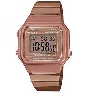 b9918979ed79 La imagen se está cargando Reloj-Unisex-CASIO -B650WC-5ADF-VINTAGE-Clasico-Acero-
