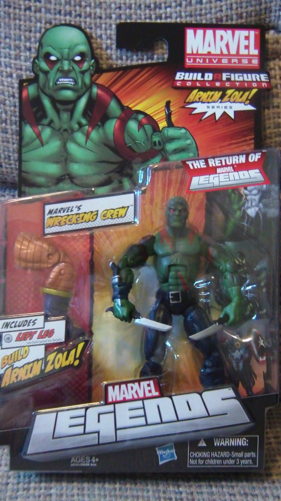 The Legend of Miracles BAF arnim Zola - drax