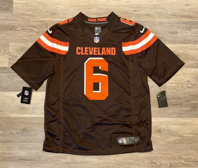 Nike Onfield Cleveland Browns Jersey Baker Mayfield #6 10000 Authentic XL