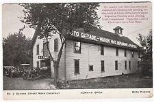 RARE Postcard - 1912 Schutt's Garage Rochester NY Agent for Paterson Car Auto