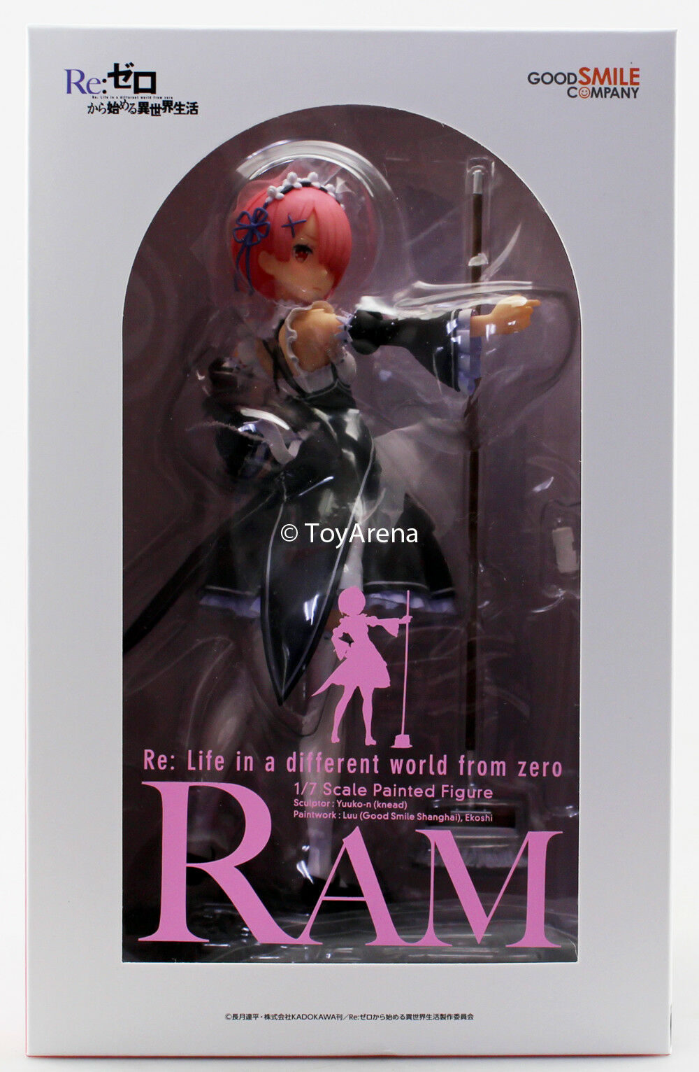 Good Smile Company Re ZERO Starting Life in Another World  Ram 1 7 Scale Figure