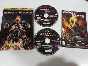 Ghost Rider Il Motociclista Fantasma - 2 X DVD Steelbook Spagnolo English Marvel