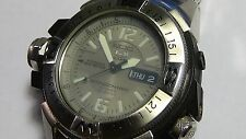 Mens SS Diving watch Diver 200M SEIKO ATLAS MAP METER Ref. 7S36-02K0 23 jewel