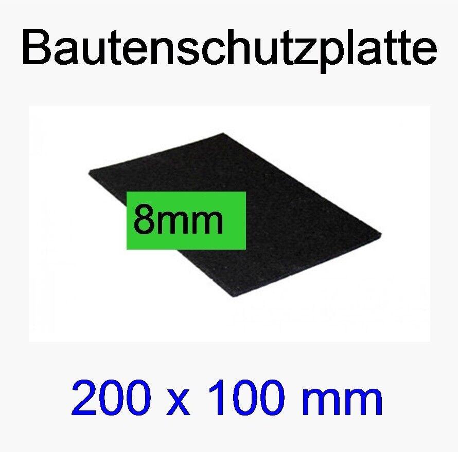 100 Stk.  0,1m x 0,2m  Bautenschutz-Platten BPM, Pads, 8mm , Terrazzoplatten