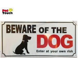 LARGE-PLASTIC-BEWARE-OF-THE-DOG-PET-WARNING-SIGN-SAFETY-DOOR-GATE-PLUS-4-SCREWS