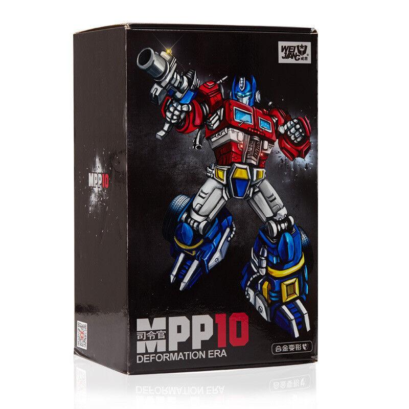 Wei jiang g1 transformers meisterwerk mpp10 alu - druckguss optimus prime