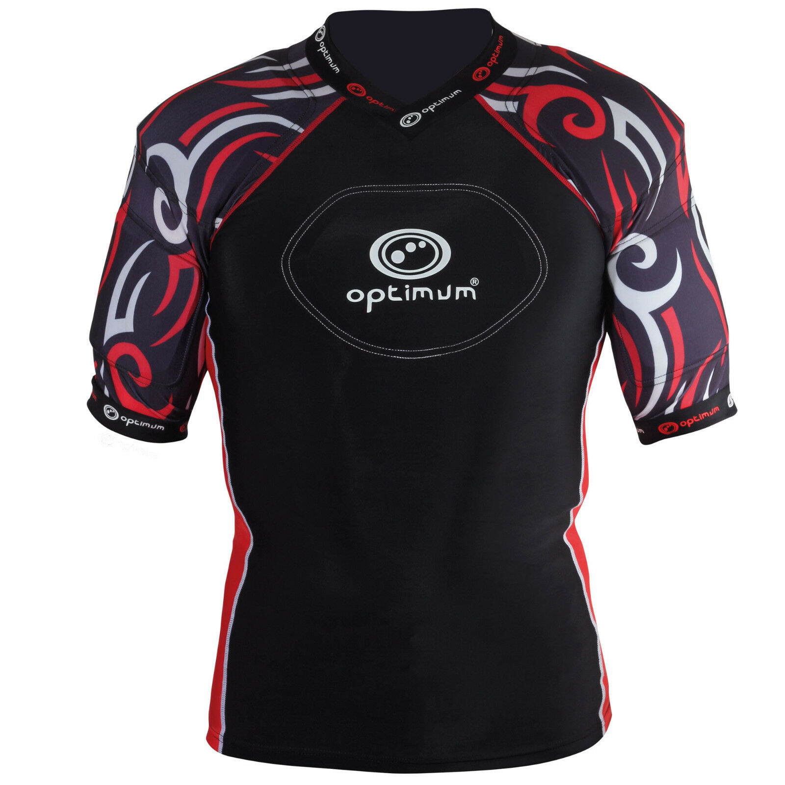 Optimum Sports Razor Removable Padding Length Predective Rugby Top DEAL