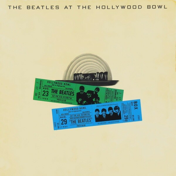 LP, The Beatles, The Beatles At The Hollywood Bowl, Rock,…