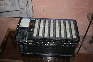 PLC automate Telemecanique TSX 47 + TSX7 Power + Card + TSX RKS 8 / P47 12 ... *