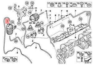 Details about Genuine BMW X3 X5 Z4 Roadster E38 E39 E46 E53 E60 E61 Vacuum  tank 11652247620