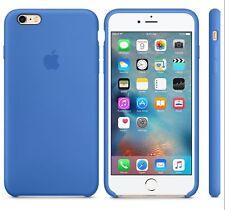 979fad0471 item 5 ROYAL BLUE GENIUNE ORIGINAL OFFICIAL Apple Silicone Case iPhone 6S  PLUS 5.5
