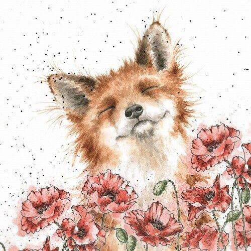 Wrendale Blank Birthday Card Hannah Dale