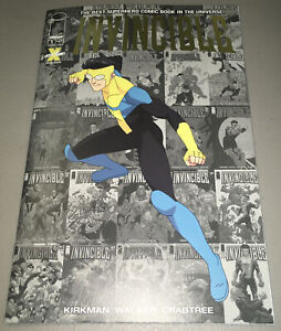 Invincible #1 LCSD Gold Foil Variant optioned Amazon TV 1st App Appearance