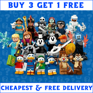 LEGO-DISNEY-SERIES-2-MINIFIGURES-71024-PICK-YOUR-OWN-BUY-3-GET-4TH-FREE