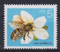 DDR Mi Nr. 3295  F 5 **, PF Plattenfehler, Biene 1990, postfrisch, MNH
