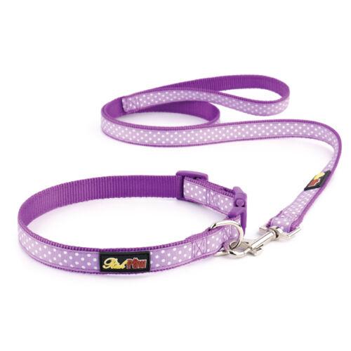 Polka Dot Wholesale Dog Collar and Matching Lead Set Trade Dog Collars