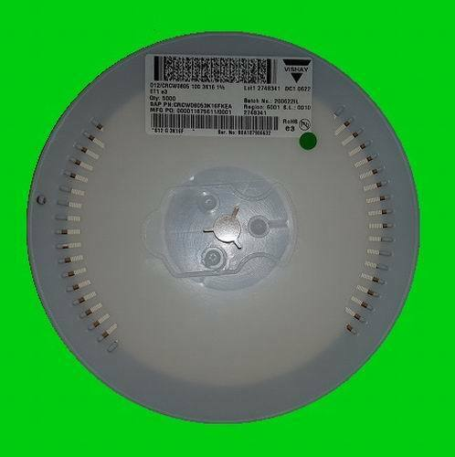 ± 1/% 5000St. VISHAY CRCW0805 Serie SMD Widerstände 80,6K 150V 0805 125mW