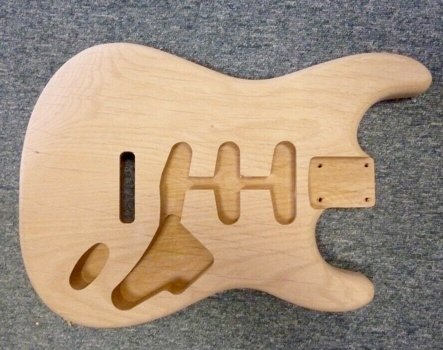 NEW Alder ST body, 44.5mm deep, 2 piece,centre joined, professional  quality