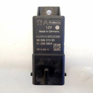 Glow Plug Relay 9809931580 (Ref.1193) Ford Fiesta mk7 1.4 tdci