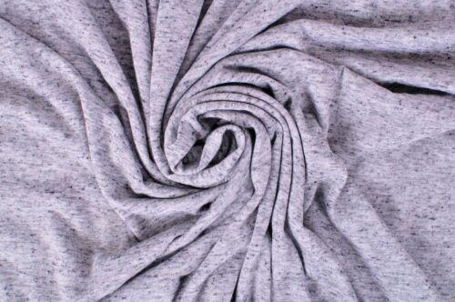Impresionante Gris Jaspeado moteado Jersey Tejido Elástico Vestido Body Con Cojín De Artesanía