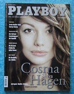 playboy heft februar 2003 2 03 cosma shiva hagen ohne poster ebay. Black Bedroom Furniture Sets. Home Design Ideas