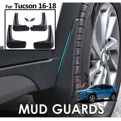 For Hyundai Tucson TL 2016-2019 2018 Mud Flaps Splash Guards Mudguard Front Rear