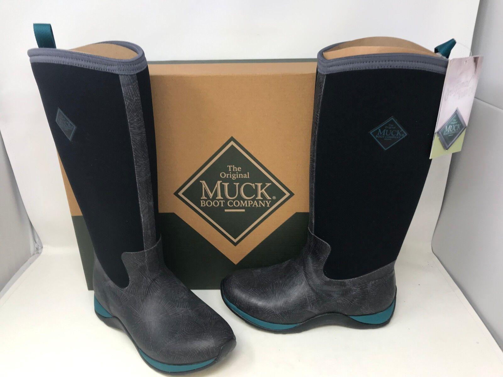 ci sono più marche di prodotti di alta qualità NEW  Muck stivali Donna  Arctic Adventure Adventure Adventure Print Winter stivali nero verde 164B tz  Sconto del 70%