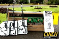 Cinch Traps-medium Gopher Trap Kit: Three Gopher Traps With Tunnel Marking Flags