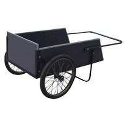 NEW VULCAN VULCAN VULCAN 9760612 HEAVY DUTY 7 CUB. FOOT WOODEN STEEL FRAME YARD WORK DUMP CART d13280