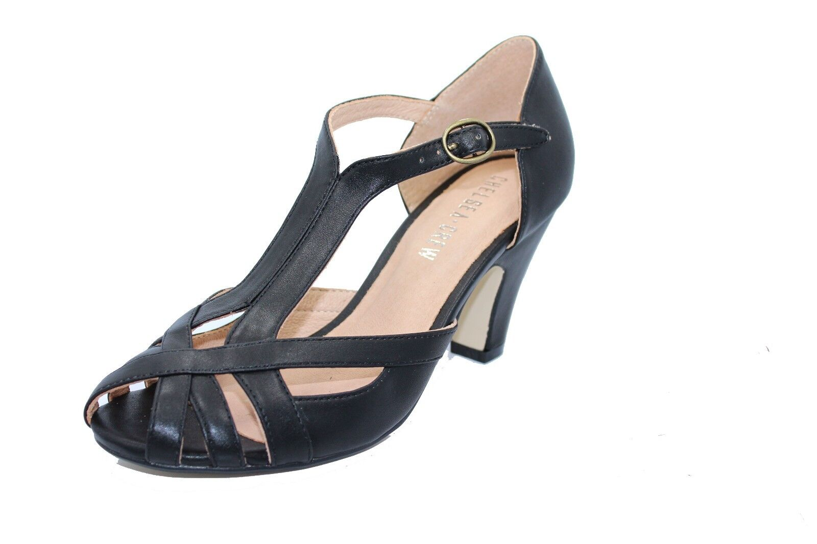 Chelsea Crew Carly Mid Heel Strappy Strappy Strappy Heels c25658