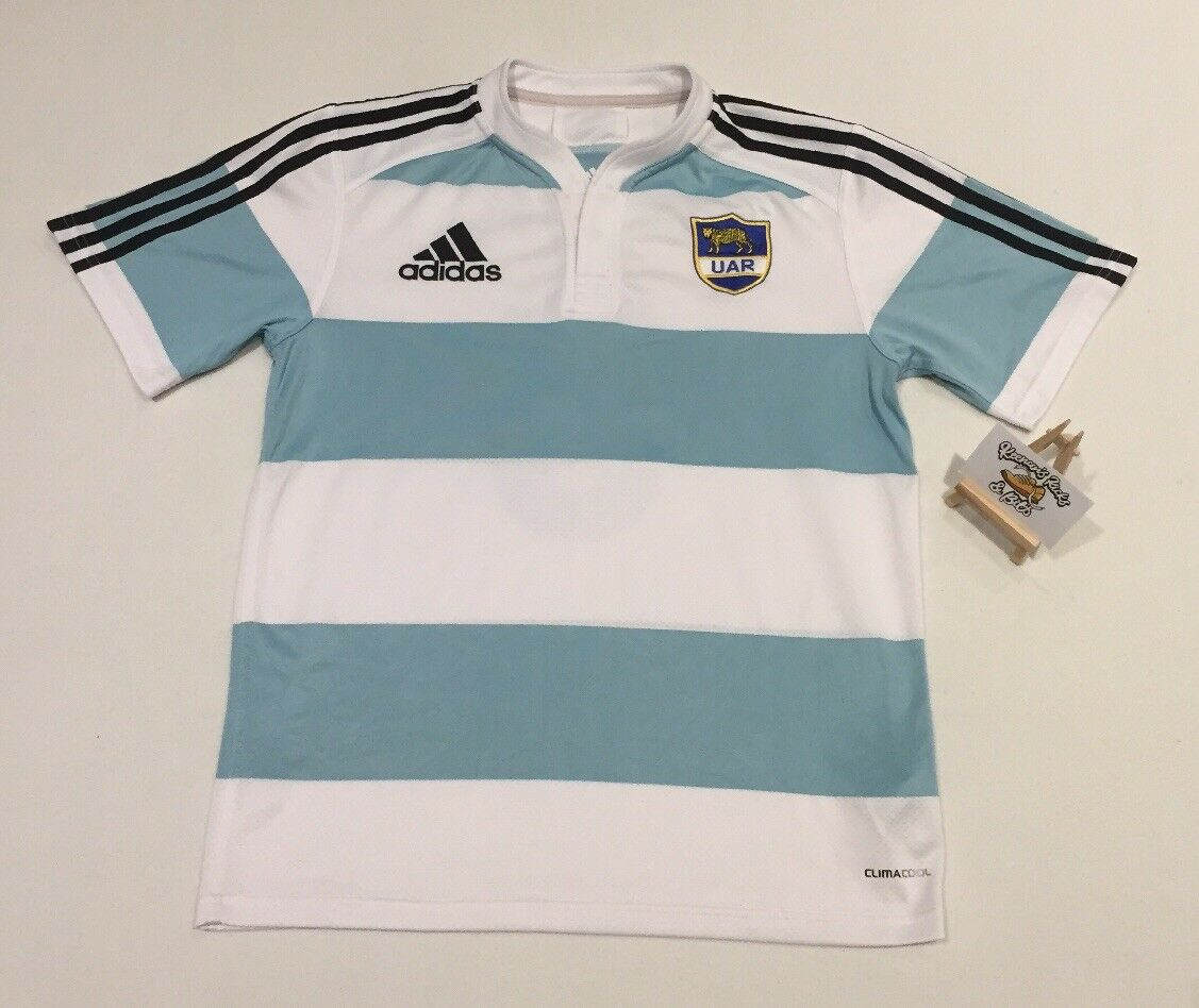 silverina 10 11 Player Issue Rugby Union SMITH 8 Shirt SMALL Camiseta Los Pumas